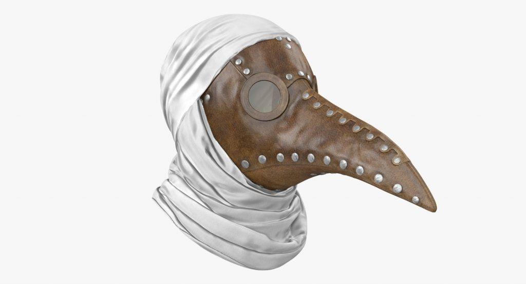 Plague Doctor Halloween Mask